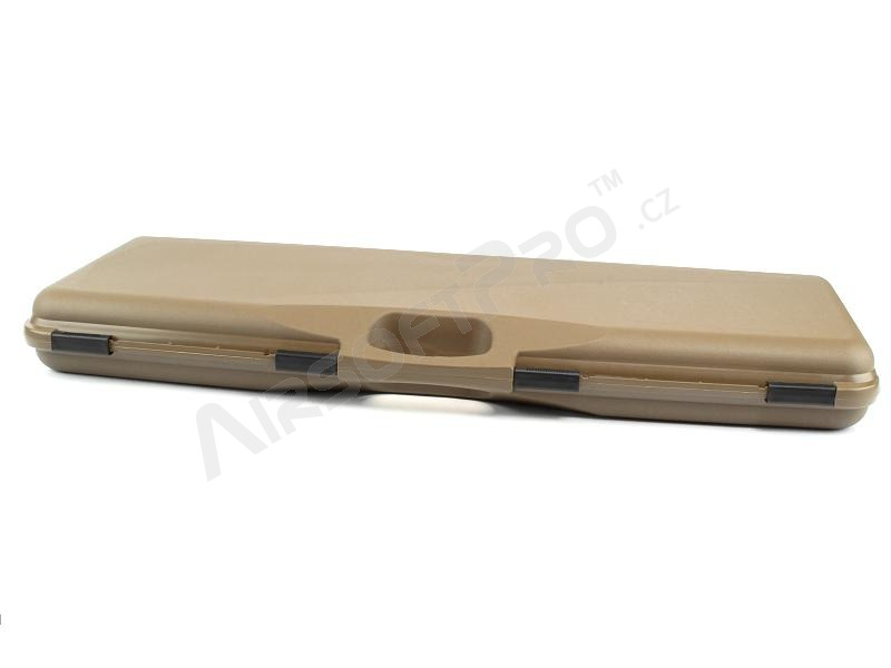 Rifle Hard Case (82 x 29,5 x 8,5cm) - Coyote Brown (CB) (1604-SEC-C) [Negrini]