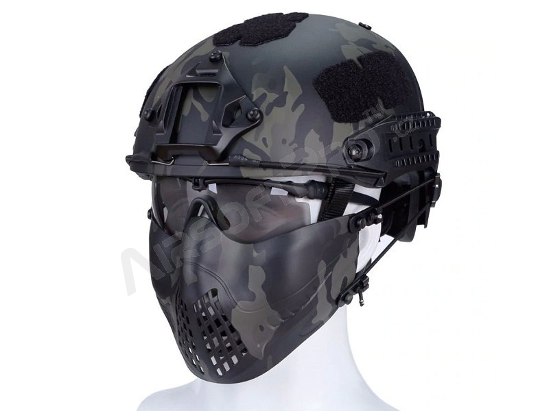 Maska na airsoft Tactical Pilot - Multicam Black [Big Dragon]
