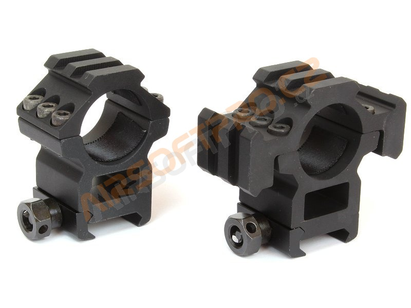25mm scope mount rings with the RIS rails -high [A.C.M.]