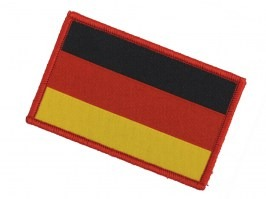 German flag cotton patch - red edging [101 INC]