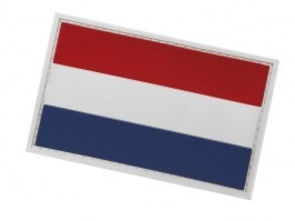 Netherlands flag 3D PVC patch with velcro [101 INC]