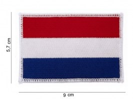 Netherlands flag cotton patch - white [101 INC]