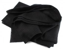 Sniper fishnet scarf 155x49cm - black [101 INC]