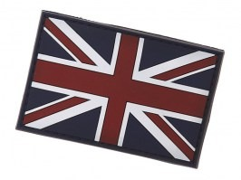 United Kingdom flag 3D PVC patch with velcro [101 INC]