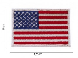 USA flag cotton patch - white [101 INC]