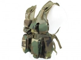 Kids assault vest - Woodland [Fosco]