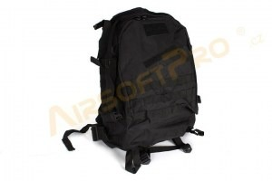 3-Day Molle Assault Backpack Bag 25L - Black [A.C.M.]