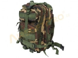 Military 3P Traveling Backpack 13L - Woodland [A.C.M.]