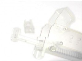 Airsoft 90-100 BBs speed magazine loader - clear [6mm Proshop]