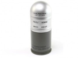 M433HE1 Grenade Dummy/Silver Grey [A.C.M.]