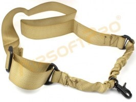 Single point bungee rifle sling - TAN [EmersonGear]