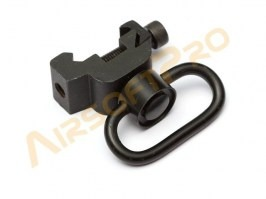 RIS mount with QD sling swivel - black [A.C.M.]