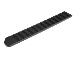 Set of 6 polymer RIS rails for M-LOK foregrip - black [A.C.M.]