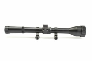 Simple rifle scope 4x28 with the mount rings [A.C.M.]