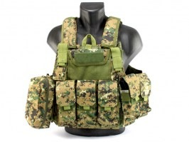 Tactical vest CIRAS modular - Digital Woodland [A.C.M.]