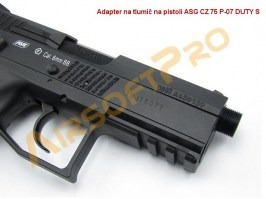 CZ 75 P-07 DUTY S. - CO2, Blowback [ASG]