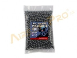 Bullets AT 0,40g , 1000pcs - dark grey [AimTop]