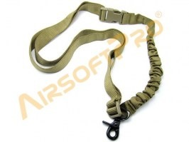 Single point bungee rifle sling - TAN [AimTop]