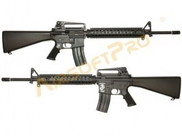 M16A4 RIS Solid stock - full metal, HTORQUE - returned in 14 days