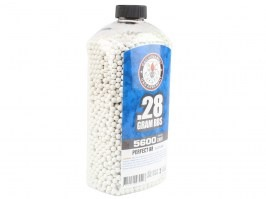 Airsoft BBs G&G 0,28g 5600pcs in bottle- white [G&G]