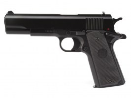 Airsoft pistol model 1911 spring action  - black [KWC]