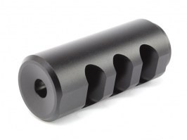 CNC muzzle break for airsoft sniper rifles [AirsoftPro]
