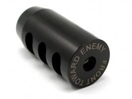 FTE flashhider - clockwise thread M14 [AirsoftPro]