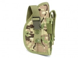 Universal tactical belt or MOLLE pistol holster - Multicam