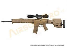 Airsoft rifle MASADA SPR Long - TAN (MOD4) [A&K]