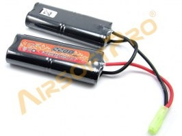 NiMH Battery 9,6V 2200mAh - PEQ2. M4A [VB Power]