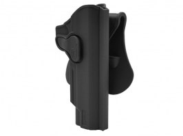 Tactical polymer holster for 1911 - black [Amomax]