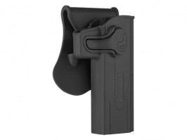 Tactical polymer holster for STI Hi-Capa - black [Amomax]