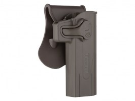 Tactical polymer holster for STI Hi-Capa - FDE [Amomax]