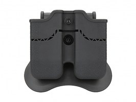 Tactical double magazine pouch for 1911 - black [Amomax]