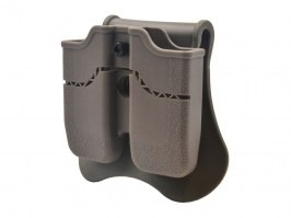 Tactical double magazine pouch for 1911 - FDE [Amomax]