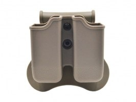 Tactical double magazine pouch for G-series - FDE [Amomax]