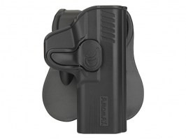 Tactical polymer holster for M&P9 - black [Amomax]