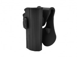 Tactical polymer holster for CZ P07, P09 - black [Amomax]