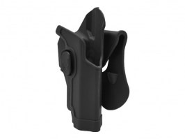 Tactical polymer holster for SIG226 - black [Amomax]