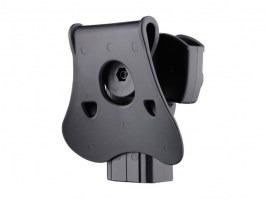 Tactical polymer holster for CZ 75D Compact, Taurus 24/7 - black [Amomax]