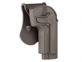 Tactical polymer holster for M92 - FDE [Amomax]