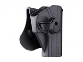 Tactical polymer holster for USP - black [Amomax]
