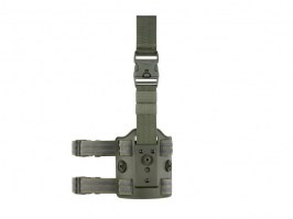 Drop Leg Platform for Amomax holsters - OD Green [Amomax]