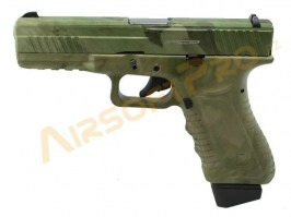 CO2 Action Combat 601 - blowback (ACP601) - ATACS FG / for display purpose