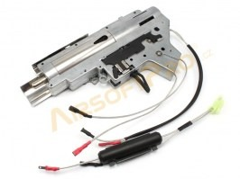 Complete QD gearbox V2 for M4/16 Silver Edge s M130, El.Blowback - back wiring [APS]