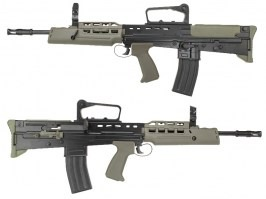 Full metal assault rifle L85A2