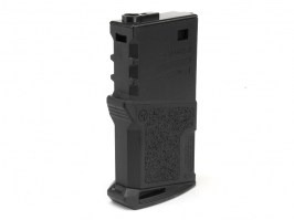 Mid-Cap 120 rds Polymer High Grade short magazine for M4 AEG - Black