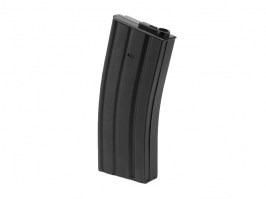 Mid-Cap 130 rds metal magazine for M4 AEG - Black [Ares/Amoeba]