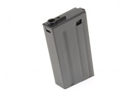 Mid-Cap 150 rds short metal magazine for M4 AEG - dark grey [Ares/Amoeba]