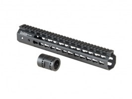 "Octarms™ Keymod style Float 12"" CNC Hand Guard - black [Ares/Amoeba]"